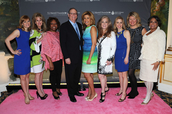 Arrivals at the Women of Influence Awards [event,yellow,fashion,youth,dress,recreation,team,tourism,leisure,party,arrivals,megan sikora,hoda kotb,charlie feldman,randi rahm,robin quivers,laura heatherly,l-r,t.j.,martell foundations women of influence awards]
