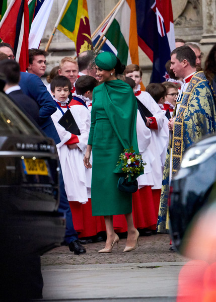 Commonwealth Day Service 2020 [tradition,event,flag,uniform,ceremony,crowd,holiday,meghan,people,service,flag,tradition,duchess,commonwealth,countries,sussex,commonwealth day service,flag,profession,tradition]