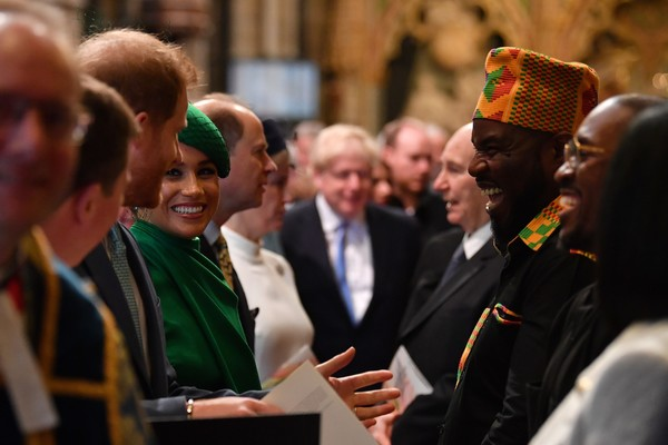 Commonwealth Day Service 2020 [event,tradition,holiday,crowd,ceremony,clergy,religious institute,harry,performers,crowd,meghan,service,tradition,sussex,commonwealth day service,duke of sussex,event,crowd]