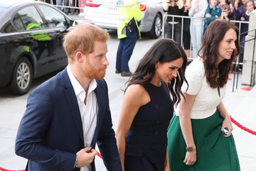 Meghan Markle Jacinda Ardern The Duke And Duchess Of Sussex Visit New Zealand - Day 4