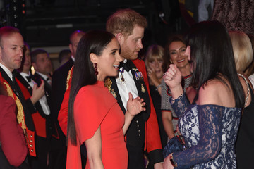 Meghan Markle The Duke And Duchess Of Sussex Attend Mountbatten Music Festival