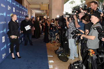 Meghan McCain Red Carpet - 26th Annual GLAAD Media Awards