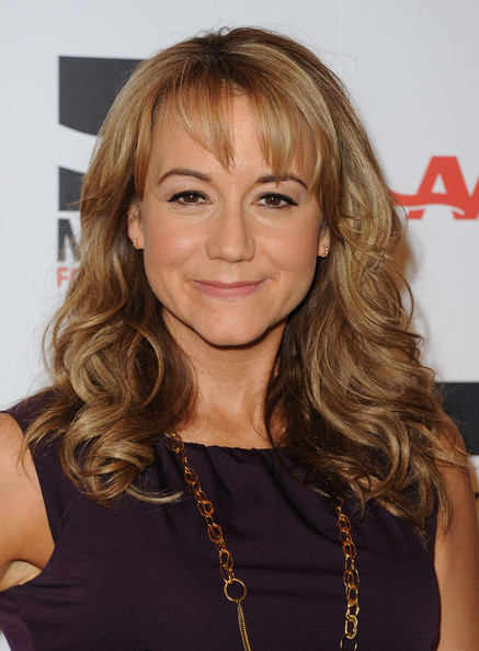 Megyn Price Actress Megyn Price arrives at the AARP Magazine 10th