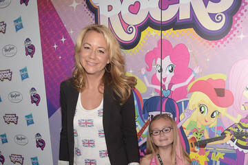 Megyn Price Hasbro Studios Present The Purple Carpet Premiere Of My Little Pony Equestria Girls Rainbow Rocks
