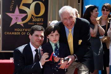 Henry Brooks Mel Brooks Honored On The Hollywood Walk Of Fame
