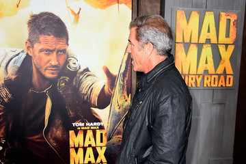 Mel Gibson Premiere Of Warner Bros. Pictures' 'Mad Max: Fury Road' - Arrivals