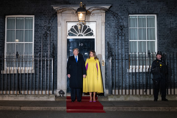Melania Trump NATO Leaders Summit Takes Place In The UK - Day One