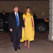 Melania Trump The Prince Of Wales Hosts US President Donald Trump For Tea