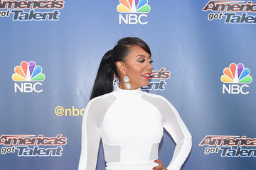 Melanie Brown Stars Attend the 'America's Got Talent' Season 10 Taping in NYC