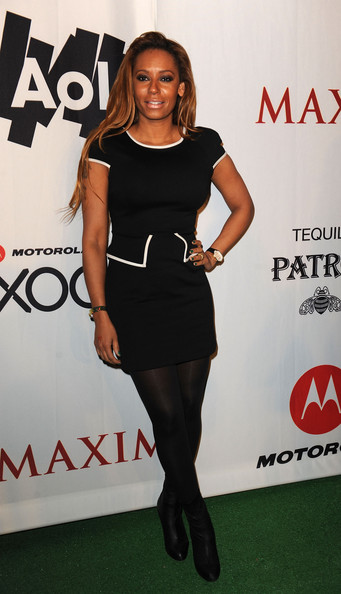 Melanie Brown TV Personality Melanie Brown attends the Maxim Party Powered by Motorola Xoom at Centennial Hall at Fair Park on February 5, 2011 in Dallas, Texas.