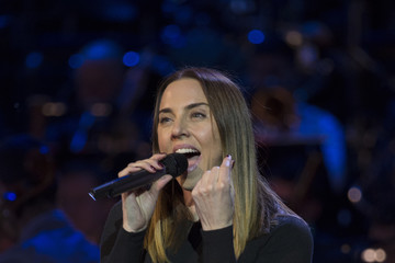 Melanie C Festival of Remembrance 2017 - Rehearsal
