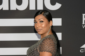 Melanie Fiona Republic Records Grammy After Party At Spring Place Beverly Hills - Arrivals
