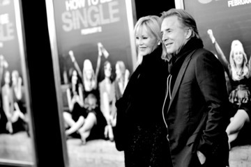 Melanie Griffith Don Johnson An Alternative View of the 'How To Be Single' New York Premiere