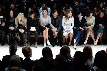 Melanie Laurent Burberry Womenswear Autumn/Winter 2014 - Front Row & Show