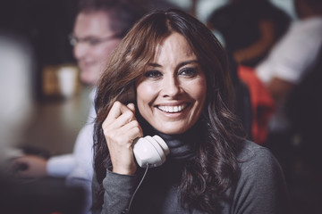 Melanie Sykes The 13th Annual BGC Charity Day At BGC Partners In London's Canary Wharf - Behind The Scenes Colour