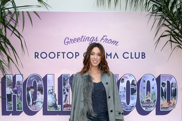 Melissa Bolona Rooftop Cinema Club Premiere Night At NeueHouse