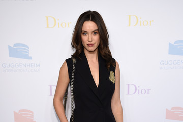 Melissa Bolona 2016 Guggenheim International Pre-Party Made Possible by Dior