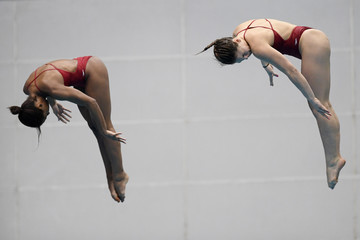 Melissa Citrini Beaulieu FINA Diving World Series - Fuji Day 1