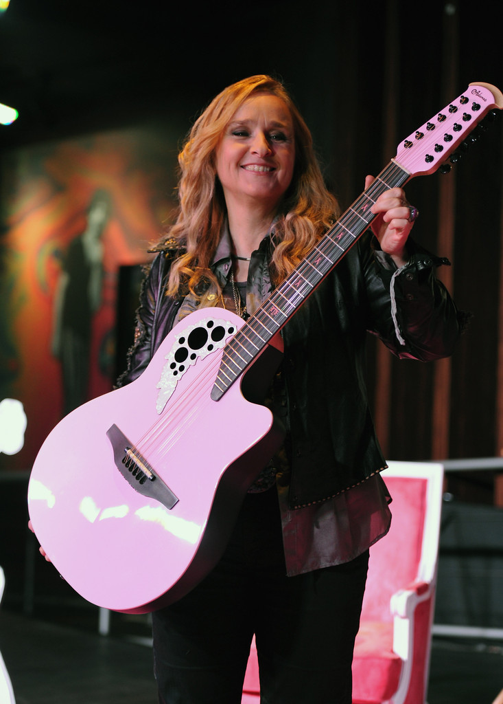 Melissa Walked Into The Cpc Terrified I Think I Am: Melissa Etheridge In Melissa Etheridge Walk Of Fame Fan