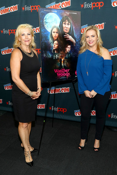 Lifetime's 'The Watcher in the Woods' Panel With Melissa Joan Hart and Paula Hart at New York Comic Con 2017