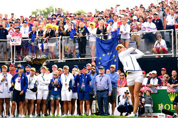 Melissa Reid The Solheim Cup - Day One