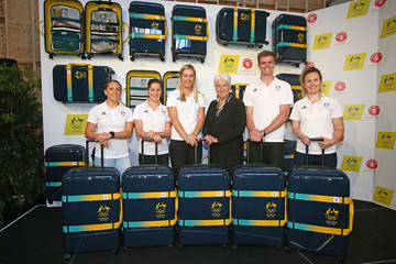 Melissa Tapper Australian Olympic Games Crumpler Luggage Launch