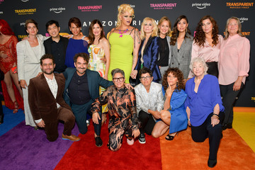 Melora Hardin Jill Soloway L.A. Premiere Of Amazon's 'Transparent Musicale Finale' - Red Carpet