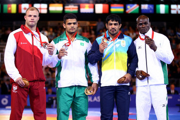 Melvin Bibo 20th Commonwealth Games: Wrestling