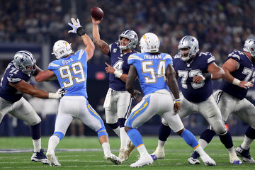 Melvin Ingram Los Angeles Chargers v Dallas Cowboys