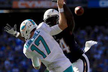 Melvin Ingram Miami Dolphins v San Diego Chargers