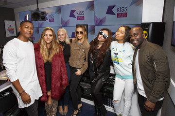 Melvin Odoom Little Mix Visit Kiss FM