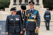 Prince Edward, Duke of Kent attends the RAF 100 ceremony on Horse Guards Parade on July 10, 2018 in London, England. A centenary parade and a flypast of up to 100 aircraft over Buckingham Palace took place earlier today to mark the Royal Air Forces' 100th birthday.