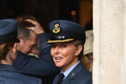 Carol Vorderman attends as members of the Royal Family attend events to mark the centenary of the RAF on July 10, 2018 in London, England.