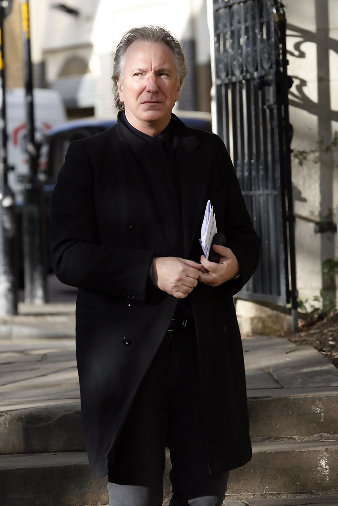 Alan Rickman Photos Photos - Memorial Service Held For Sir ...
