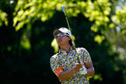 Ryo Ishikawa of Japan plays a shot on the 4th hole during the final round of the Memorial Tournament presented by Nationwide Insurance at Muirfield Village Golf Club on June 1, 2014 in Dublin, Ohio.