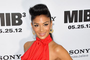 "Nicole Scherzinger attends the ""Men In Black 3"" New York Premiere at Ziegfeld Theatre on May 23, 2012 in New York City."