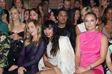 Mena Suvari Christian Siriano - Front Row - Mercedes-Benz Fashion Week Spring 2015