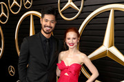 (L-R) Ross Butler and Madelaine Petsch attend the Mercedes-Benz Academy Awards Viewing Party at The Four Seasons Hotel Los Angeles at Beverly Hills on February 09, 2020 in Los Angeles, California.