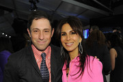 (L-R) Designers Jonathan Adler and Paige Novick attend Mercedes-Benz Fashion Week Fall 2012 Fashion's Night In at Lincoln Center on February 9, 2012 in New York City.