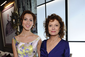 Susan Sarandon Eva Amurri Mercedes-Benz Fashion Week Spring 2012 - Official Coverage - People and Atmosphere Day 4