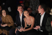 Candice Swanepoel and guests at the Mercedes-Benz presents Fashion Talents from South Africa show during Berlin Fashion Week Autumn/Winter 2020 at Kraftwerk Mitte on January 13, 2020 in Berlin, Germany.