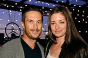 Actors Oliver Hudson and Bianca Kajlich arrive at Mercedes-Benz Transmission LA: AV CLUB Curated by Mike D at The Geffen Contemporary at MOCA on April 19, 2012 in Los Angeles, California.