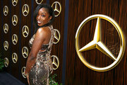 Estelle attends the Mercedes-Benz USA Awards Viewing Party at Four Seasons Los Angeles at Beverly Hills on February 24, 2019 in Los Angeles, California.