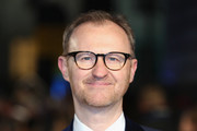 Actor Mark Gatiss attends 'The Mercy' World Premiere at The Curzon Mayfair on February 6, 2018 in London, England.