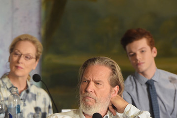 Meryl Streep 'The Giver' Press Conference in NYC