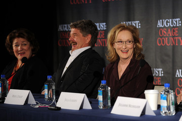 Meryl Streep Margo Martindale 'August: Osage County' Press Conference in NYC