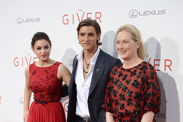 Meryl Streep 'The Giver' Premieres in NYC