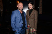 Michael Petroni and Michelle Monaghan attend the 'Messiah' Los Angeles Press Mixer at The Shelby on December 12, 2019 in Los Angeles, California.