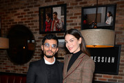 Mehdi Dehbi and Michelle Monaghan attend the 'Messiah' Los Angeles Press Mixer at The Shelby on December 12, 2019 in Los Angeles, California.