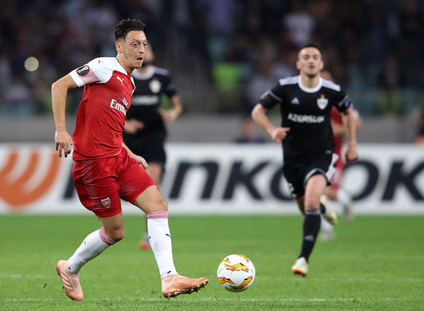 Qarabag FK v Arsenal - UEFA Europa League - Group E []